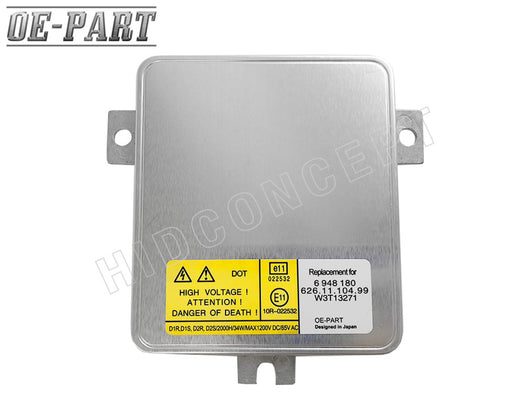 OE-PART: Replacement HID Ballast for MITSUBISHI D1S (#W3T13271) 35W