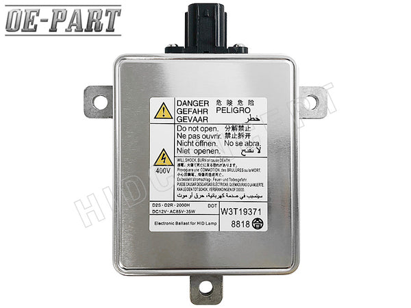 OE-Compatible: Replacement for MITSUBISHI HID BALLAST (#W3T19371) 35W