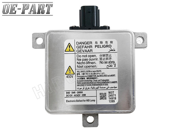 OE-Compatible: Replacement for MITSUBISHI HID BALLAST (#W3T23371) 35W