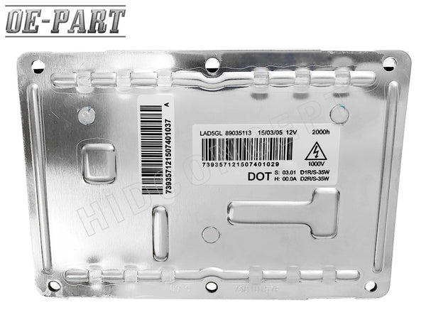 Replacement HID Ballast for VALEO D1S