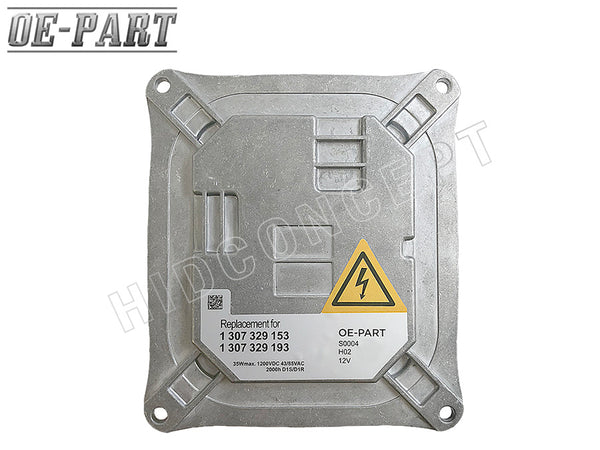 OE-Compatible: Replacement for AL BOSCH HID Ballast (#130732915301) 35W