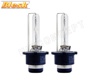 two BLESK D4S 4300K HID XENON Bulbs