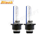 two BLESK D4S 8000K HID XENON Bulbs