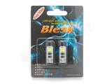 T10 - Blesk Error-Free LED Pure White Bulbs (Pack of 2)