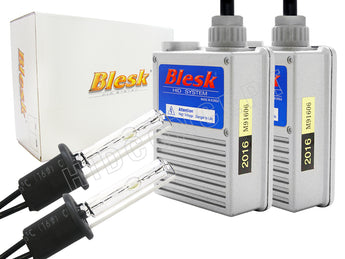 a set of H1 Blesk HID conversion kit in full view