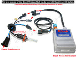 showing where to plug in for H4/9003 Blesk conversion kit