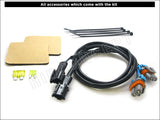 wire and accessories for H4/9003 Blesk conversion kit