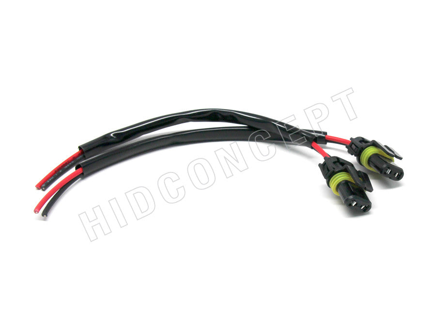 9006 - Female HID Xenon Wire Harness | HID Concept