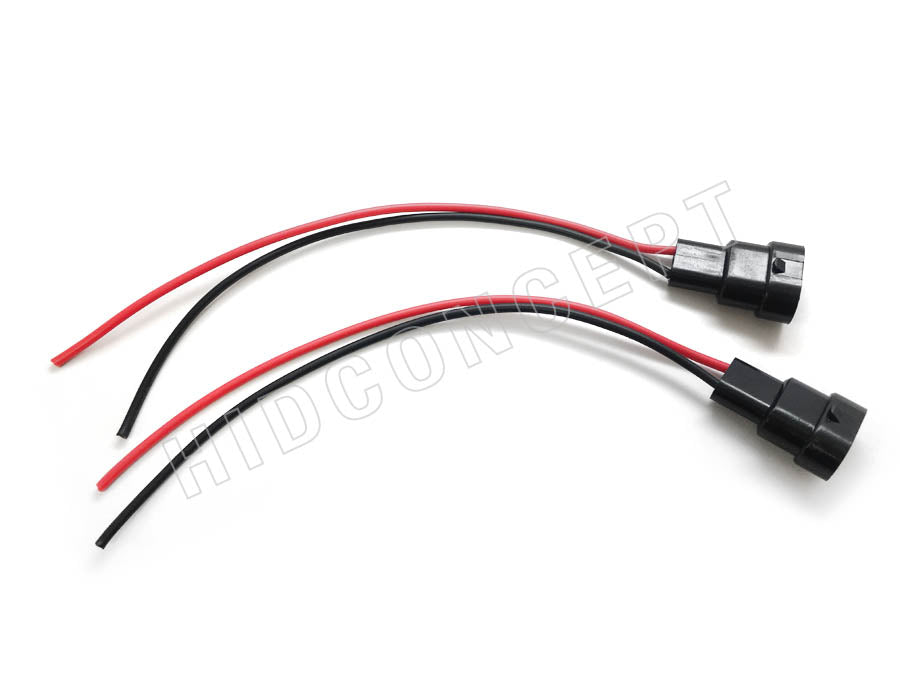 9006 - Male HID Xenon Wire Harness Male To Wiring Harness on