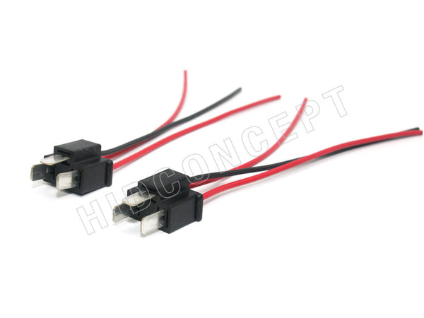 two #9003 (H4/HB2) Male HID Xenon Wire Harness