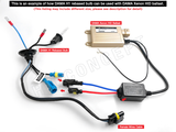 H4 / 9003 - DAMA Kanji HID/Xenon System (Conversion Kit) - 35W