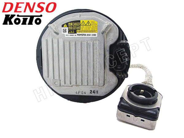 front view of Denso OE D4 Ballast DDLT004