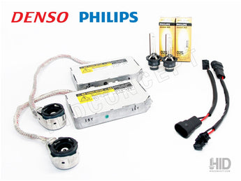 D2R or D2s OEM Denso HID System full view