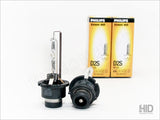 D2R or D2s OEM Denso HID System two Philips OEM bulbs full view