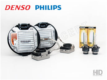 D4R D4S - OEM DENSO DDLT-004 HID Bundle SET (Ballasts + Bulbs)