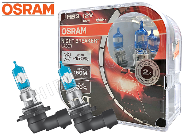 HB3 (9005) - Osram Night Breaker Laser +150% 9005NL-HCB Bulbs (Pack of 2)