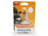 front view of #9003 (H4/HB2) Philips Original Standard OEM Bulb