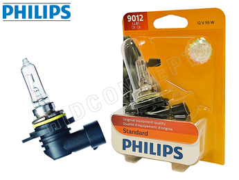 9012: Philips Original Standard Halogen OEM Bulb 9012LLB1 (Pack of 1)