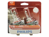packaged PHILIPS H11 X-treme Vision Bulbs
