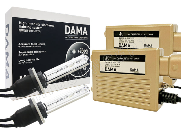 The DAMA Kanji HID/Xenon System Conversion Kit