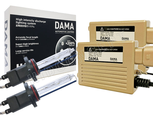 complete set of DAMA Kanji HID/Xenon System 9005/HB3