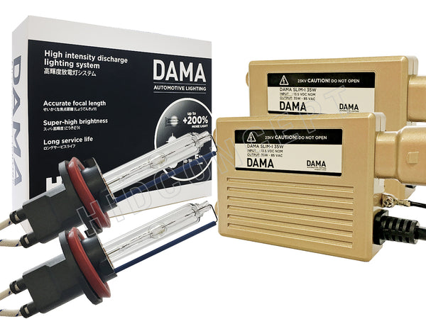 DAMA Kanji HID Xenon conversion kit full view