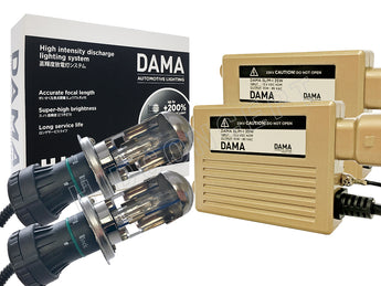 Full view of DAMA Kanji Bi-Xenon conversion kit