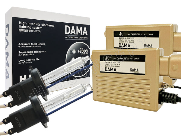 H7 - DAMA Kanji HID/Xenon System (Conversion Kit) - 35W