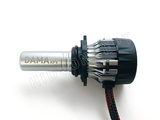 Side view of 9006 / HB4 DAMA Kanji Focus Vision LED bulbs
