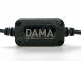 9005 DAMA Kanji Lux Vision (KLV) V.1 LED Headlight/Foglight ballast close up