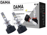 H7 Dama Kanji Lux Vision LED headlight/foglight kit full view