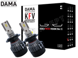 NEW! H7 - DAMA Kanji FOCUS Vision V.1 LED Headlight Bulbs (Pack of 2)