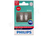 front view Philips Ultinon red LED bulb package
