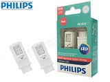 philips ultinon led bulbs in red color opened box
