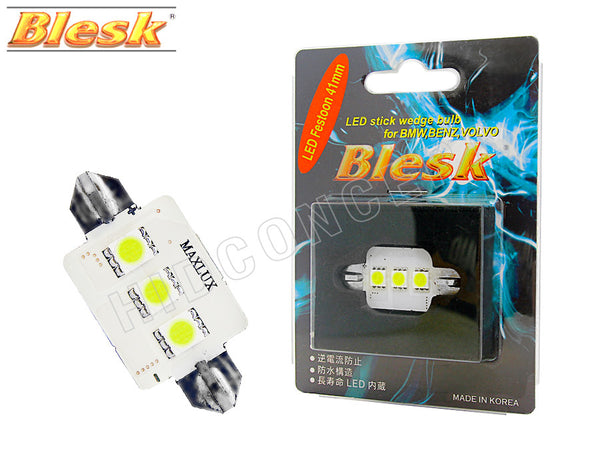 41mm Blesk Festoon LED White Bulb comes one in a pack