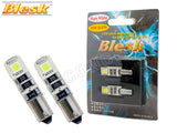 H6W / BAX9s - Blesk Error-Free LED White Bulbs (Pack of 2)