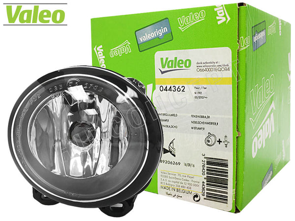 lamp and product box of #44362, Valeo OEM Fog Lamp for BMW 5 series