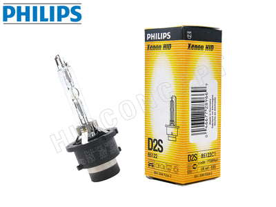 one bulb and package of PHILIPS D2S HID OEM 4300K