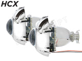 Side view of H1 HCX Bi-Xenon MINI projectors OR