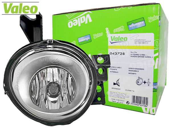 front view of Valeo Fog Lamp for VW and Porsche