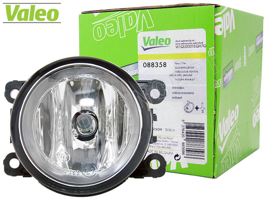 green package and opened #88358 Valeo OEM Fog Lamp for Ford / Lincoln
