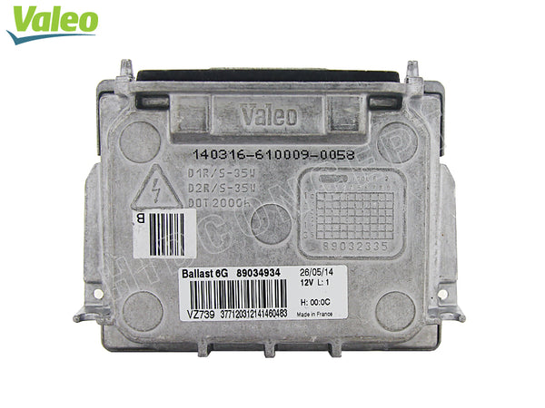 front view of 6G VALEO OEM HID Replacement Ballast