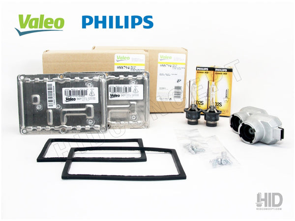 HID system with Valeo LAD5GL ballast and choice of Philip HID bulbs
