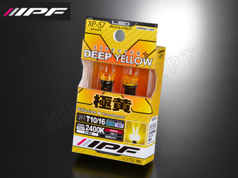 T10 IPF Deep Yellow 2400K Wedge Effecter+ LED Bulb Kit