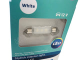 close-up view of Philips Ultinon LED 211-2ULWX1 White Bulbs
