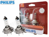 two opened PHILIPS H7 X-treme Vision Bulbs