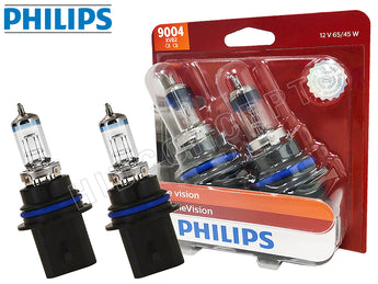 9004 - Philips X-treme Vision +100% 9004XVB2 Bulbs (Pack of 2)
