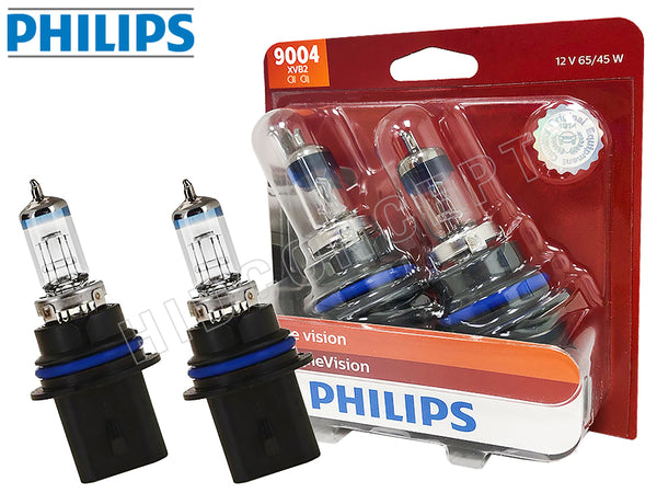 unboxed view of the Philips X-treme Vision 9004 bulb