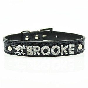 Personalised Leather Collar