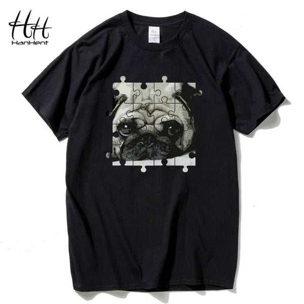 Pugsaw Puzzle T-Shirt